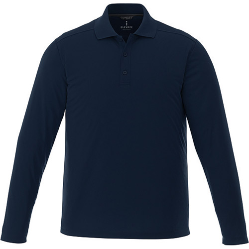 Men's  MORI Long Sleeve Polo Tall