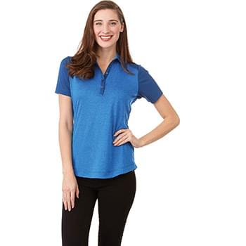 Women's SAGANO Short Sleeve Polo